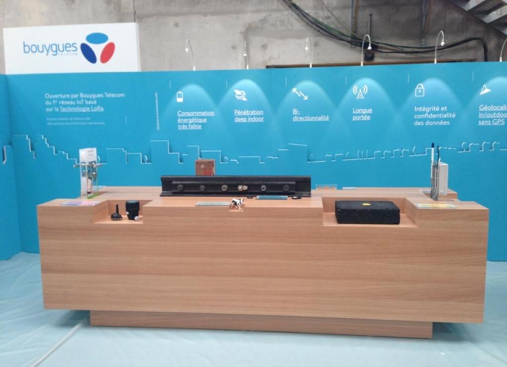 Notre tête de télérelève présentée lors de l'inauguration de la Cité IoT