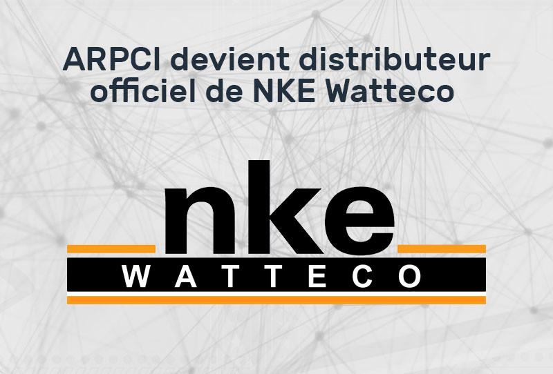 Accord de distribution entre NKE Watteco et ARPCi